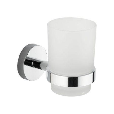 Mexen Loft fali pohár / fogkefe tartó - króm (7012638-00)