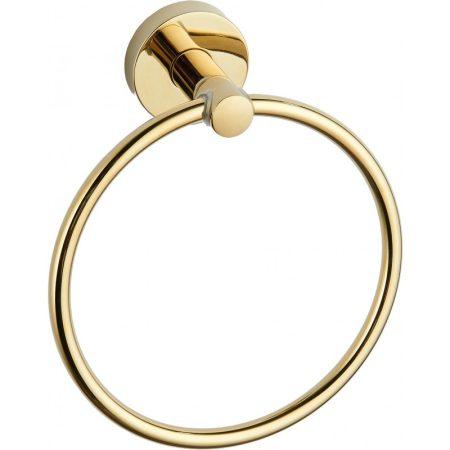 Mexen Remo fali törölközőtartó gyűrű - arany (7050732-50)