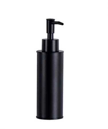 Mexen fali szappanadagoló 180ml - fekete (70622-70)