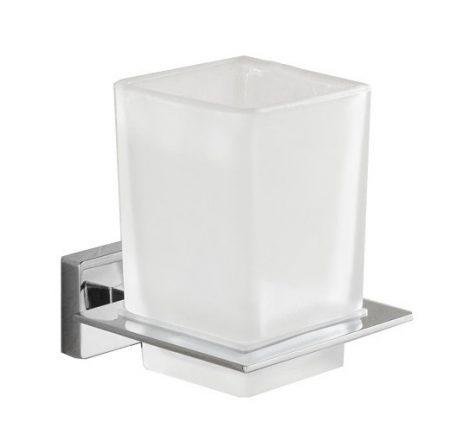 Mexen Arno fali pohár / fogkefe tartó - króm (7020738-00)