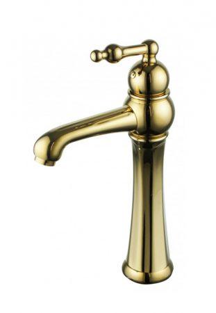 Mexen Retro magasított mosdó csaptelep - arany (73210-50)