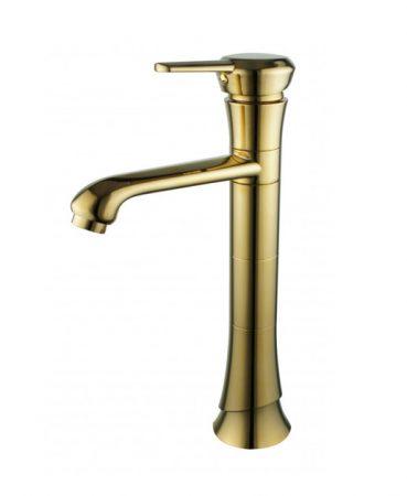 Mexen Rose magasított mosdó csaptelep - arany (73310-50)