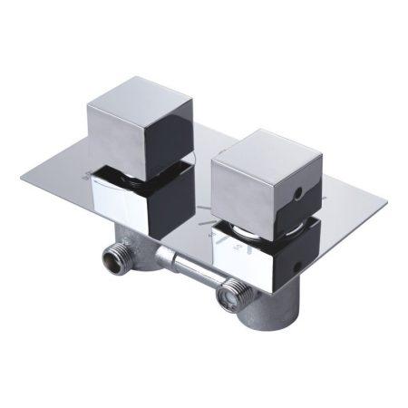 Mexen Cube falsík alatti termosztátos zuhany csaptelep (77502-00)