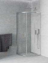 Mexen Rio zuhanykabin elhúzható ajtóval - 90 x 90 cm (863-090-090-01-00)