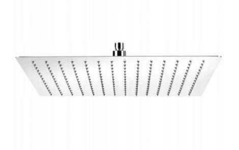Gamma Slim szögletes esőztető fejzuhany - 25x25 cm