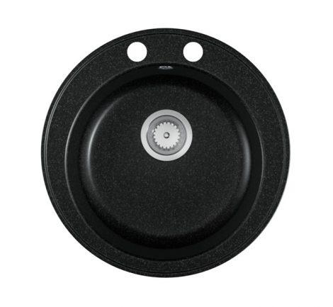 Gránit mosogató EOS Valero + Szifon (fekete)