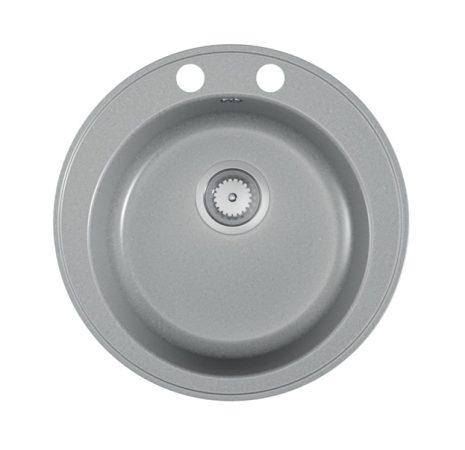 Gránit mosogató EOS Valero + Szifon (matt szürke)