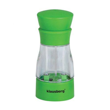 Klausberg 2in1 2 részes só- és borsőrlő - zöld (KB-7018G)