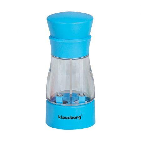 Klausberg 2in1 2 részes só- és borsőrlő - kék (KB-7018K)