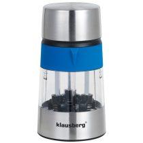 Klausberg 3in1 3 részes só- és borsőrlő - kék / inox (KB-7020B)