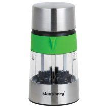 Klausberg 3in1 3 részes só- és borsőrlő - zöld / inox (KB-7020G)