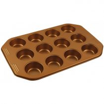 Klausberg tapadásmentes muffin sütőforma 12 darabos (KB-7374)