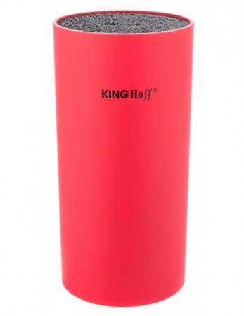 Kinghoff univerzális késtartó - piros - 18 x 11 cm (KH-4372R)