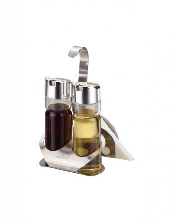 Kinghoff olaj-ecet tartó szett - inox (KH-4166)