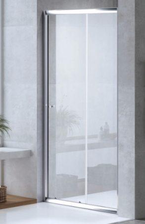 ARBO Glass elhúzható zuhanyajtó (tolóajtó) - 110 x 195 cm