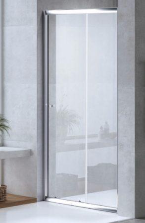 ARBO Glass elhúzható zuhanyajtó (tolóajtó) - 90 x 195 cm