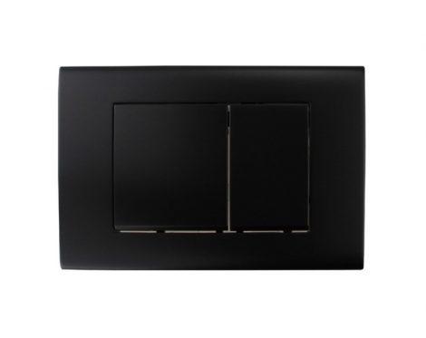 Mexen Fenix-02 WC nyomólap - fekete (600103)