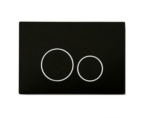 Mexen Fenix-02 fekete WC nyomólap (600503)