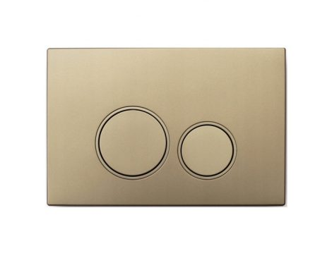Mexen Fenix-02 arany WC nyomólap (600504)