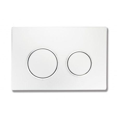 Mexen Fenix-07 WC nyomólap - fehér (600700)
