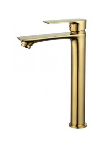 Mexen Royo magasított fürdőszobai mosdó csaptelep - arany (72210-50)
