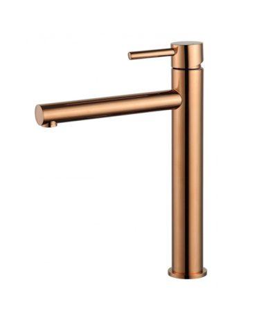 Mexen Elba magasított fürdőszobai mosdó csaptelep - rose gold (74110-60)