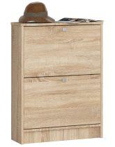 Cipőtároló szekrény / cipősszekrény 80 cm - Akord Furniture - sonoma tölgy