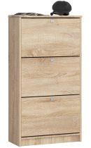 Cipőtároló szekrény / cipősszekrény 112 cm - Akord Furniture - sonoma tölgy
