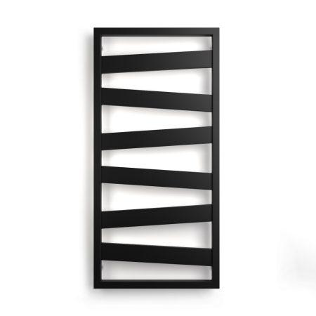 Weberg Texas Design Törölközőszárítós Radiátor 110x53 cm (Fekete)