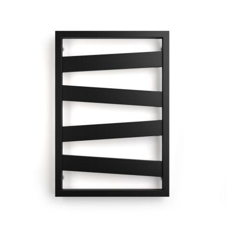 Weberg Texas Design Törölközőszárítós Radiátor 77x53 cm (Fekete)